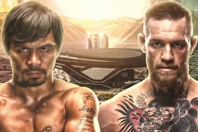 Manny Pacquiao vs Conor McGregor - Foto: worldboxingnews